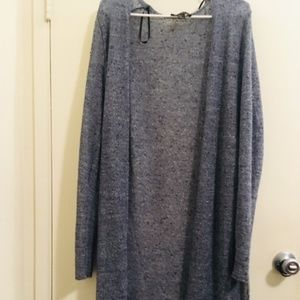 Forever 21 light blue Long sleeve Cover up Sz 1X